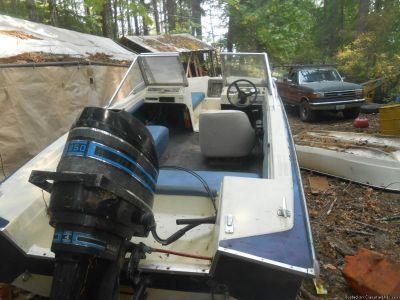 15 ft open bow 2 85 hp motors