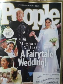 PEOPLE Special Collector's Issue: Meghan & Harry A Fairytale Wedding! NEW