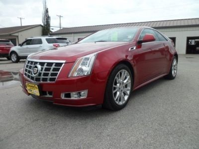 $32,995, 2013 Cadillac CTS Coupe Premium