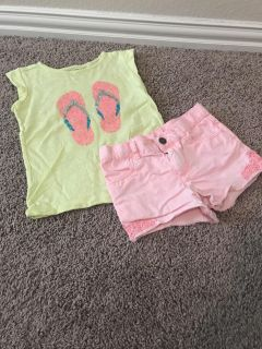 Carters 5/5T Outfit