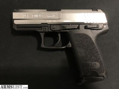For Sale: Rare Heckler & Koch H&K USP Compact 9mm Stainless