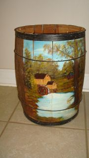Medium sized Antique Nail Keg