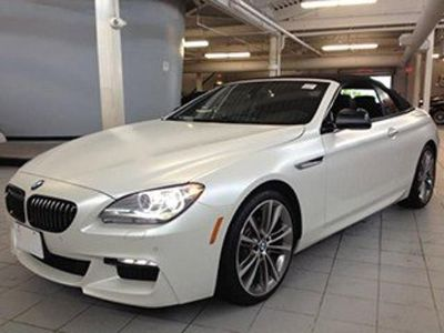 2014 BMW 6-Series 650i xDrive (Alpine White)