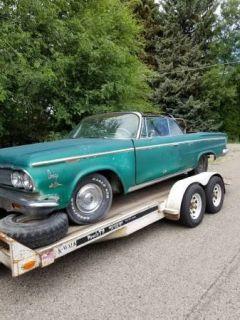 ***Arizona Select Rides ** 1963 Dodge 880 CVT Project**