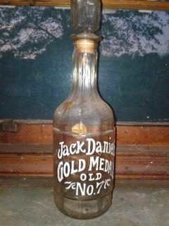 old jack daniel bottle