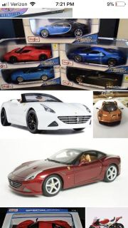 SEARCHING FOR 1:18 MODEL EXOTIC CARS WITH OPENING DOORS ETC.