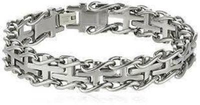 FATHER S DAY SALE***BRAND NEW***Men's S/S Railroad Bracelet***