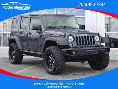 Used 2017 Jeep Wrangler Unlimited for sale