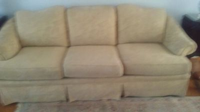 Clayton marcus rolled arm couch