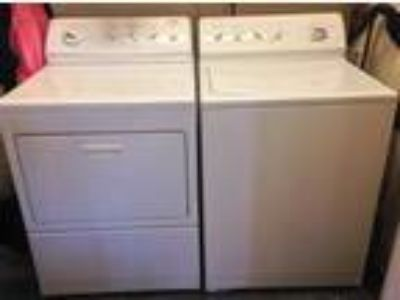 Electric Kenmore Elite Washer/Dryer HD King Size