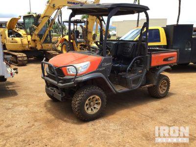 2014 Kubota RTV-X1120D 4WD Utility Vehicle