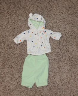 0 - 3 Month soft outfit - like new!