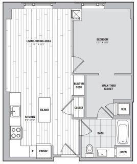$7980 1 apartment in Chinatown