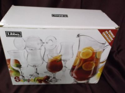 7 Piece Libbey Pitcher With Glasses