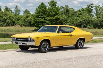 1969 Hyundai Tucson Limited V6 (Yellow)