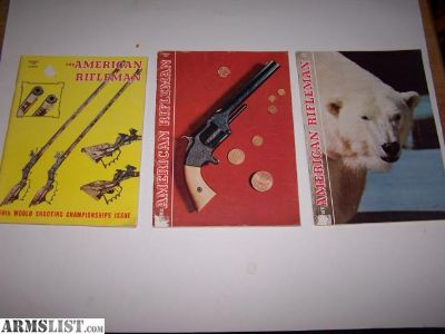 For Sale: Six Vintage Gun Magazines