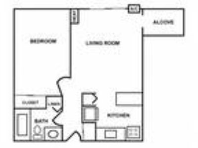 920 On the Park - One BR w/Alcove Apartment