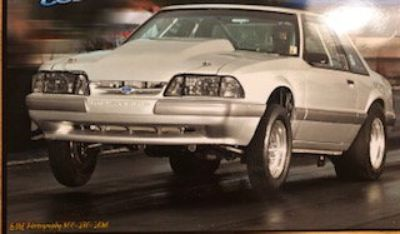 1992 Ford Mustang 6.20 car