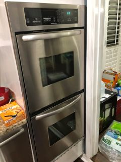 KitchenAid Superba Double Oven Model KEBC247VSS02