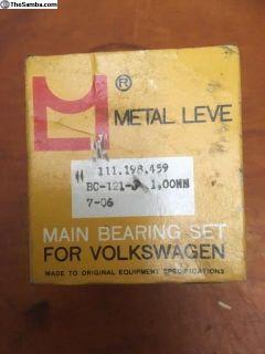 NOS Main Bearing Metal Leve (111 198 459)