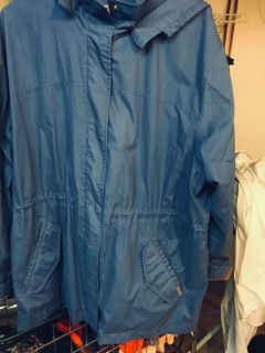 EUC SPRING JACKET WITH HOOD SIZE 1X
