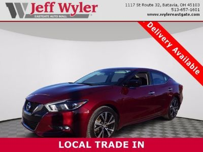 2018 Nissan Maxima S (Carnelian Red)