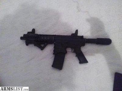 For Sale/Trade: Ar 15 pistol 7.5 inch Barrel