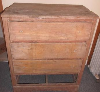Barn Wood? Old Chest of Drawers.