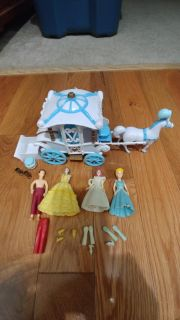 Cinderella Carriage and Dolls