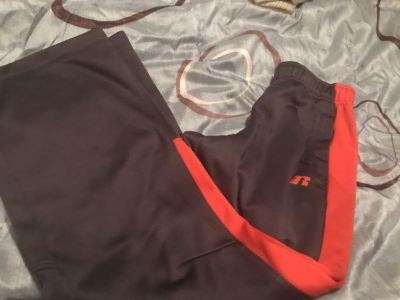 Russel athletic pants thick material