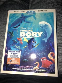 Finding Dory Blu Ray and dvd $5