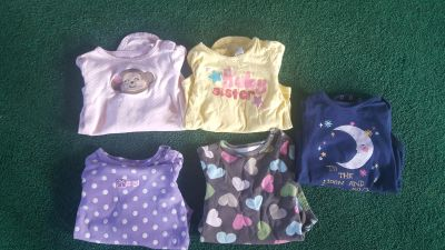 Girls long sleeve onesies size 18 months $2 for all