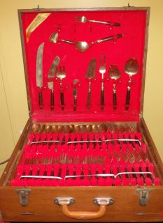 "Rare Find Vintage Flatware (Occupied Japan) $95 ""The Back Forty"","