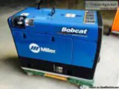 Like New Bobcat Miller Welder EFI Generator with Leads