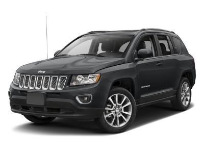 2017 Jeep Compass Latitude (Bright White Clearcoat)