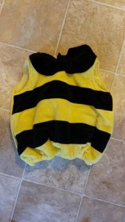 12m Bumblebee Halloween Outfit
