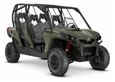 2019 Can-Am Commander MAX DPS 800R Utility SxS Glasgow, KY