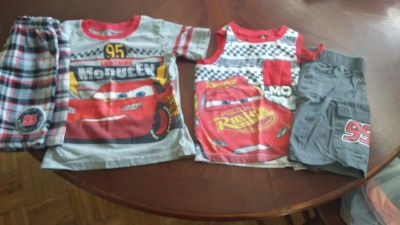 2 lighting McQueen outfits