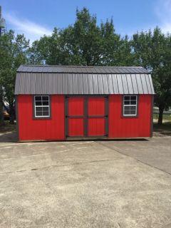 10x20 Side Lofted Barn