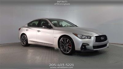 2018 Infiniti Q50 Red Sport 400 (liquid platinum)