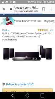 Phillips Home Theater System