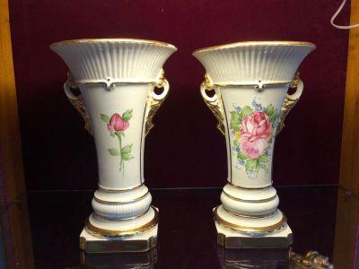 Ornate vase set