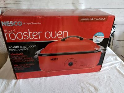 Nesco 18 qt roaster oven, new
