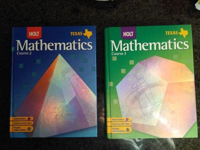 two mathematics books - selling as one lot