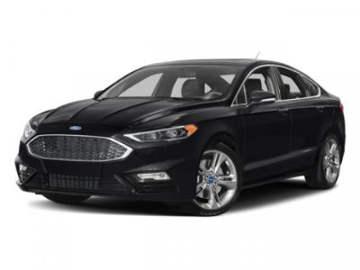 2017 Ford Fusion Sport (Red)