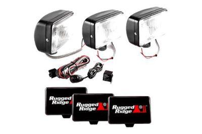Sell Rugged Ridge 15207.65 - Off Road Black Fog Light Kit motorcycle in Suwanee, Georgia, US, for US $152.97