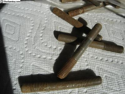 NOS 8mm Engine studs-80mm long