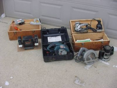 Attention Flea Marketers Big Lot Of Power Tools