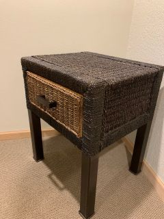 Pier One Wicker Table