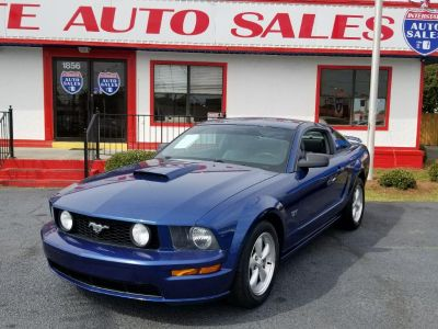 2008 Ford Mustang GT Deluxe (Blue)